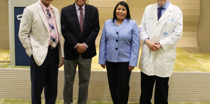 Bienvenido Peña, César Herrera, Milagros Ureña, Jorge Marte